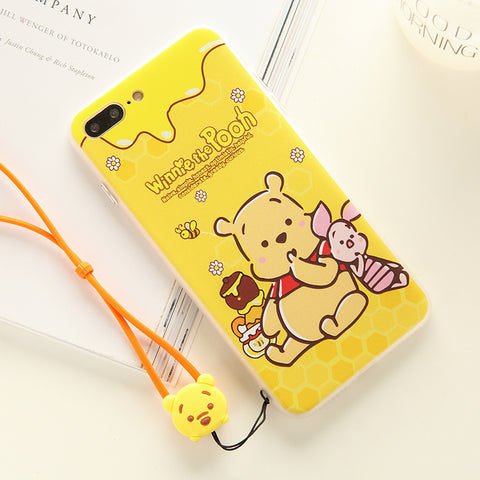 Ốp winnie the pooh (iPhone 6 -> iPhone X)