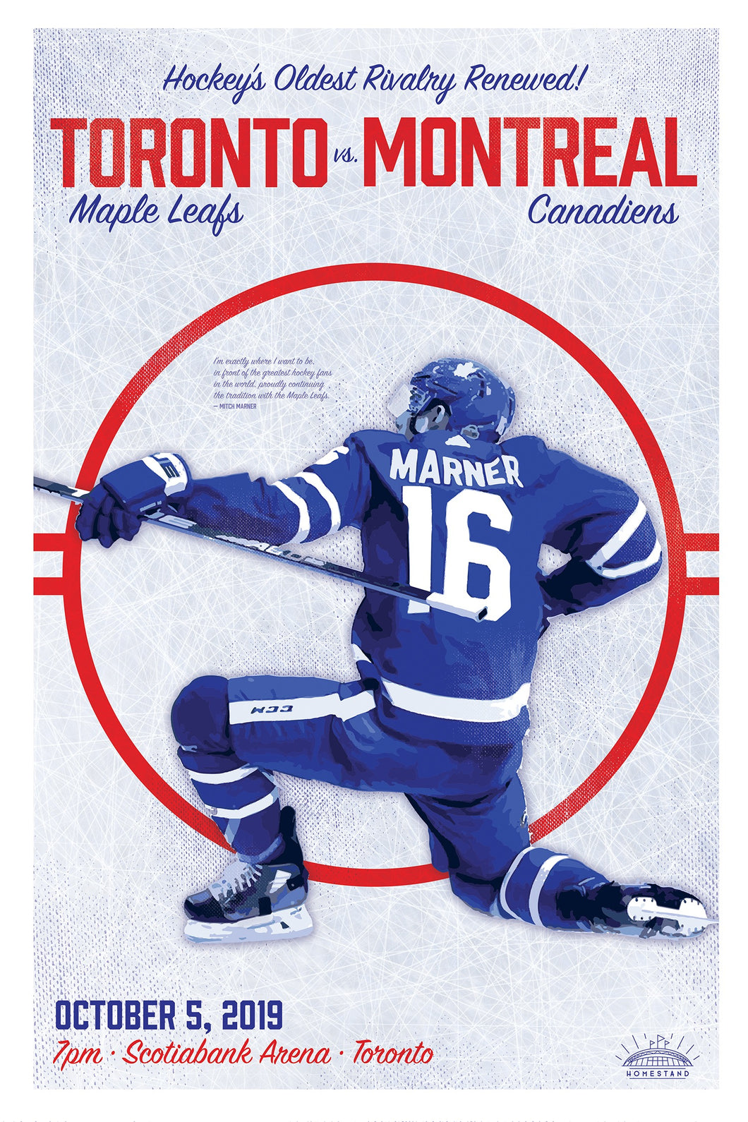 Maple Leafs Opening Night Poster