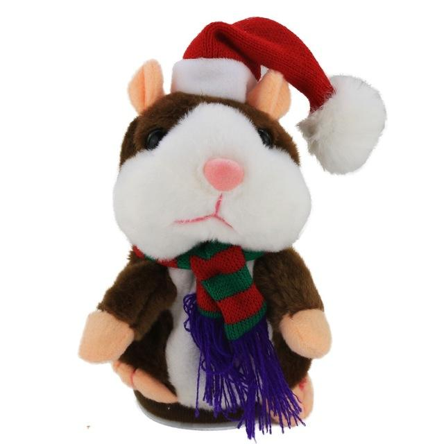 Talking Christmas Hamster