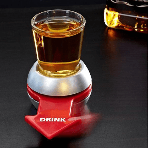 UR-TURN Spin Shot Glass Drinking Game