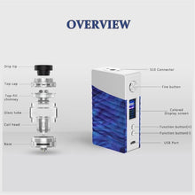 GeekVape Nova 200W Starter Kit with with Cerberus 25mm Sub-Ohm Tank