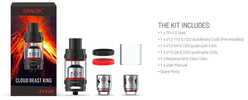 SMOKTECH TFV12 CLOUD BEAST KING TANK - FantasyVapeShop.com