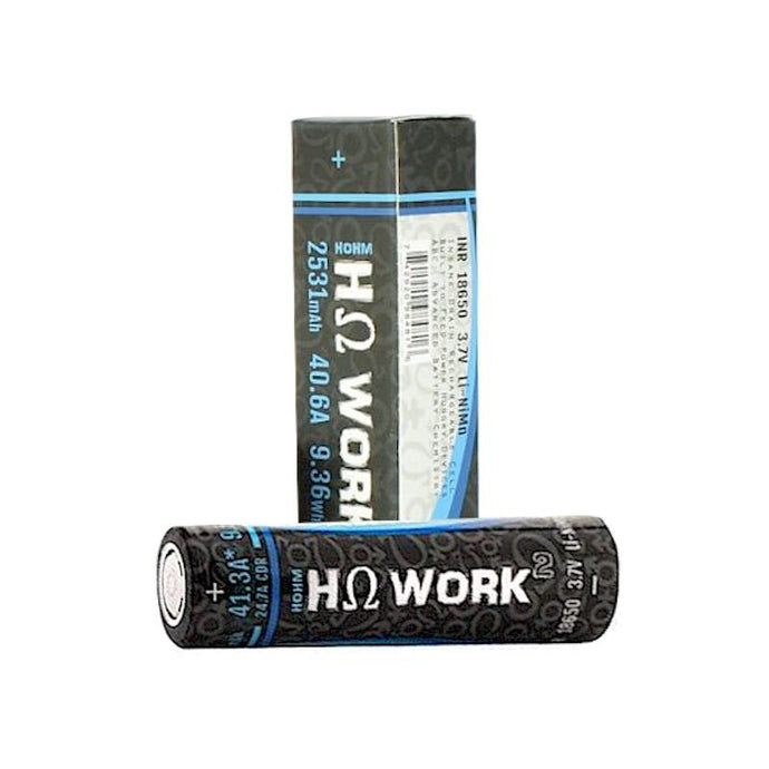 Hohm Work² 18650 2576mAh 24.7A Battery