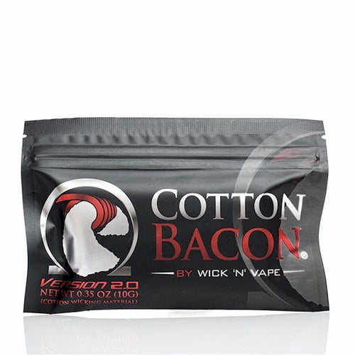 Wick 'N' Vape Organic Cotton Bacon V2 (10 Pieces) - FantasyVapeShop.com