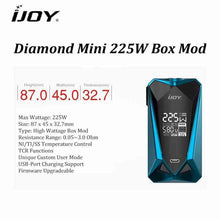 iJoy Diamond Mini 225W TC Starter Kit @ FantasyVapeShop.com