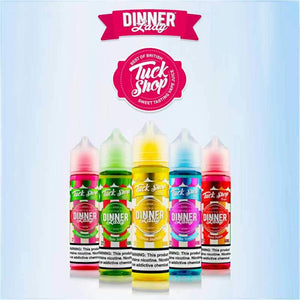 Dinner Lady Tuck Shop Collection 60ml Vape Juice @ FantasyVapeShop.com