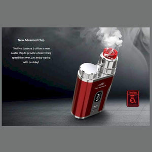 Eleaf Pico Squeeze 2 100W Squonk Kit with Coral 2 RDA @ FantasyVapeShop.com