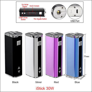 ELEAF ISTICK 30W KIT - WITHOUT WALL ADAPTER - FantasyVapeShop.com