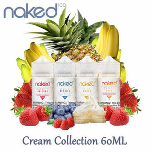 Naked 100 Cream Collection 60ml Vape Juice @ FantasyVapeShop.com