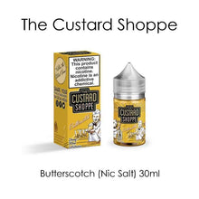 The Custard Shoppe Butterscotch Nic Salt 30ml Vape Juice @ FantasyVapeShop.com