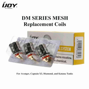 iJoy DM Series Mesh Replacement Coils 3pk @ FantasyVapeShop.com