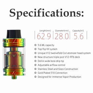 iJoy Maxo V12 Vape Tank - Supreme Kit Version @ FantasyVapeShop.com