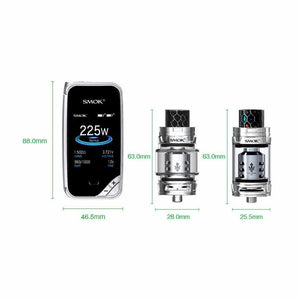 Smok X-Priv 225W TC Kit With TFV12 Prince Tank