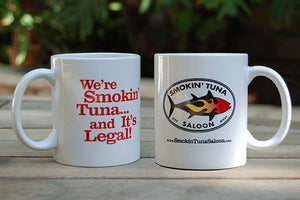 Smokin' Tuna Coffee Cup