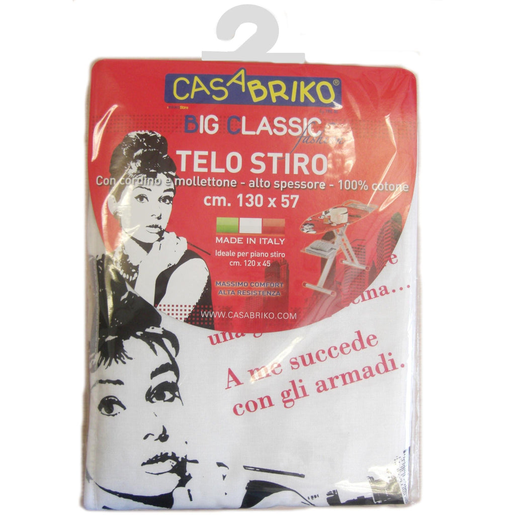 Big Classic Fashion - Telo Stiro 100% Cotone