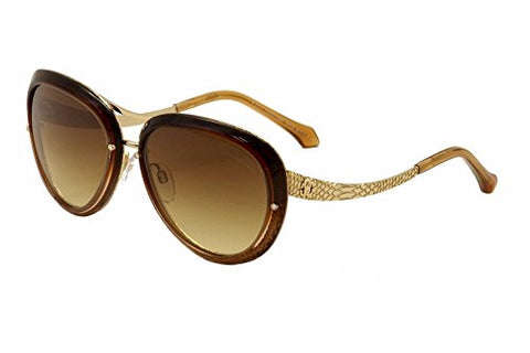 Roberto Cavalli Womens Nashira 923S-A 923S-A/S 48F Brown Fashion Sunglasses 56mm