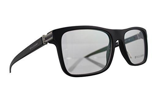 Bvlgari Men's BV3028 Eyeglasses - Black Sand - Mall Bloc