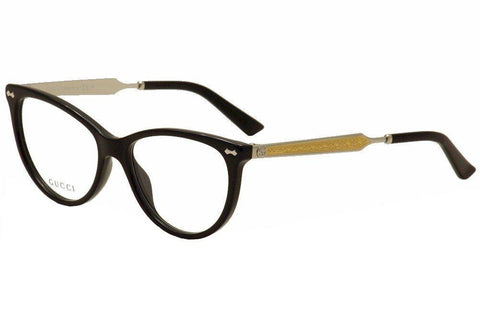 Gucci 3818 Eyeglasses - Dark Havana Gold - Mall Bloc