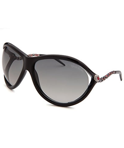 Roberto Cavalli Women's Caph Butterfly Sunglasses, Black, 67-15-115