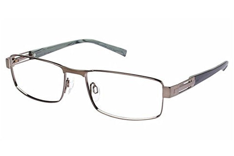 Charmant Men's Eyeglasses TI11427 TI/11427 OL Olive Full Rim Optical Frame 55mm - Mall Bloc