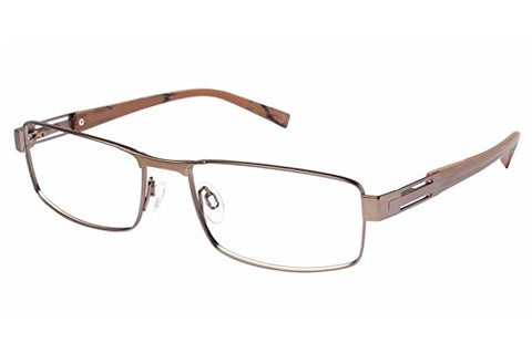 Charmant Men's Eyeglasses TI11427 TI/11427 BR Brown Full Rim Optical Frame 55mm - Mall Bloc