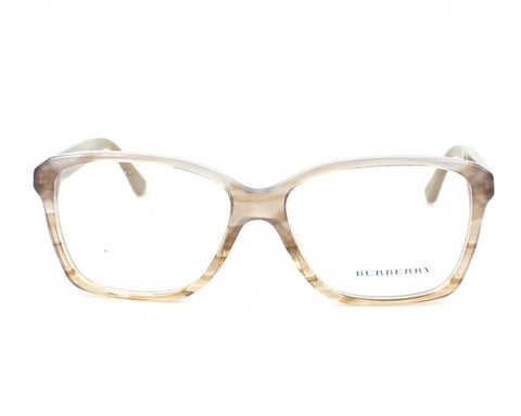 Burberry BE2121 Eyeglasses-3339 Striped Brown-52mm - Mall Bloc