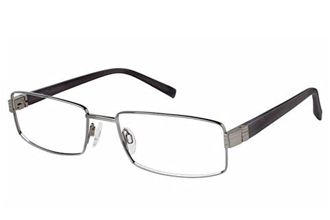 Charmant Men's Eyeglasses TI10741 TI/10741 GR Gray Full Rim Optical Frame 54mm - Mall Bloc