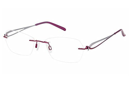 Charmant Women's Eyeglasses TI10968 TI/10968 RO Rose Rimless Optical Frame 51mm - Mall Bloc