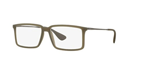 Ray-Ban Eyeglasses RX7043 5466 Rubber Demi Gloss Military 54 14 140