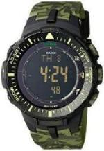 Casio Mens Pro Trek TRIPLE SENSOR Digital Dress Solar Watch NWT PRG-300CM-3D - Mall Bloc