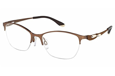 Charmant Perfect Comfort Eyeglasses TI/10606 BR Brown Optical Frame 51mm - Mall Bloc