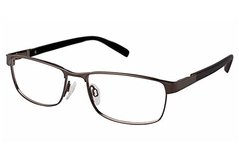 Charmant Men's Eyeglasses TI11430 TI/11430 BR Brown Full Rim Optical Frame 53mm - Mall Bloc