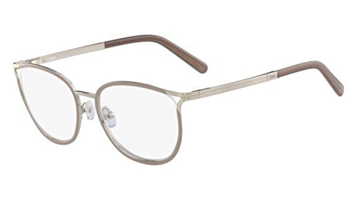 Eyeglasses CHLOE CE 2132 719 GOLD/NUDE - Mall Bloc