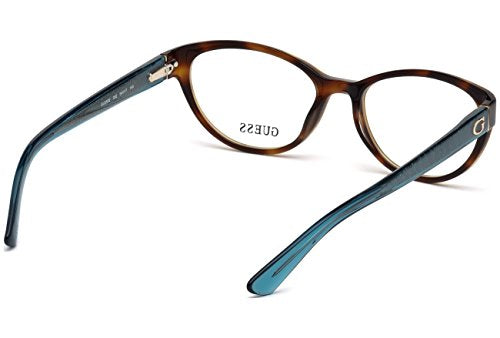Guess GU 2592 052 54mm Dark Havana Eyeglasses - Mall Bloc