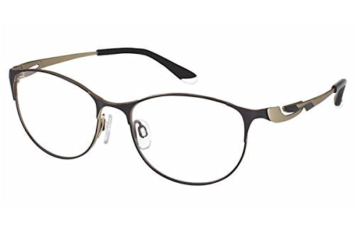 Charmant Perfect Comfort Eyeglasses TI/10607 BK Black Optical Frame 50mm - Mall Bloc