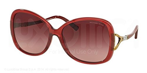 Michael Kors Bora Bora Sunglasses MK2010B 30428H Milky Burgundy Burgundy Gradient 60 16 135 - Usa-optical.com