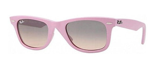 Ray Ban RB2140 Wayfarer Sunglasses-885/N1 Pink (Gray Grad Pink Lens)-54mm
