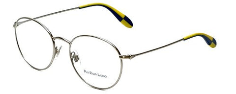 Polo PH1132 Eyeglasses-9046 Matte Brushed Silver-51mm - Usa-optical.com
