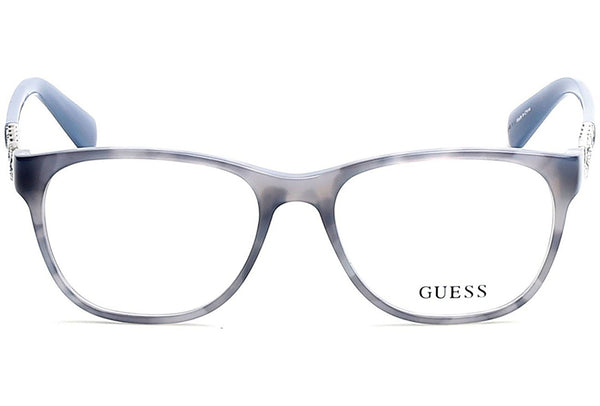 Guess GU 2559 52092 Blue Eyeglasses - Mall Bloc
