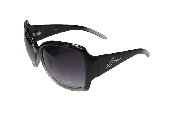 Guess GUF 200 BLK 35A 62mm Black / Grey Gradient Sunglasses - Mall Bloc