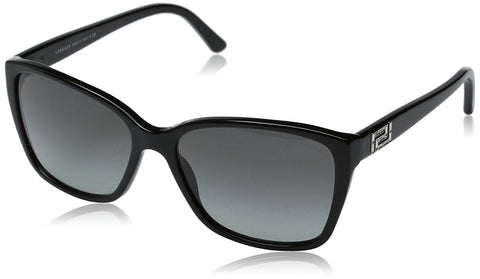 Versace 4268B GB1/11 Black 4268B Treasure Greca Square Sunglasses Lens Category - Usa-optical.com