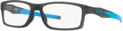 Oakley RX Eyewear - Crosslink Trubridge Asia Fit (56) - Satin Gray Smoke Frame Only - Usa-optical.com