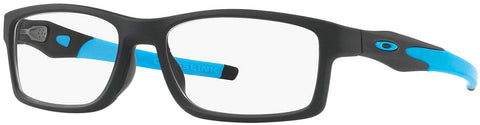 Oakley RX Eyewear - Crosslink Trubridge Asia Fit (56) - Blue Frame Only - Usa-optical.com