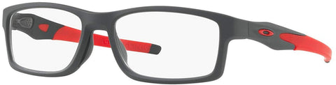 Oakley RX Eyewear - Crosslink Trubridge Asia Fit (56) - Satin Pavement Frame Only - Usa-optical.com