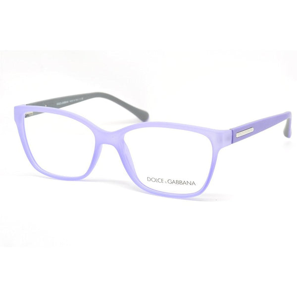 Dolce & Gabbana DG5008 Eyeglasses-2817 Lilac Demi Transparent Rubber-54mm - Mall Bloc
