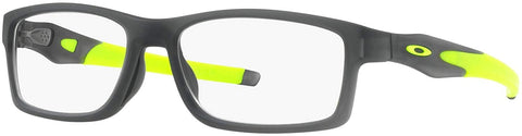 Oakley RX Eyewear - Crosslink Trubridge Asia Fit (56) - Satin Grey Frame Only - Usa-optical.com