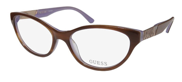 Guess GU 2351 AMB 53mm Amber Eyeglasses - Usa-optical.com