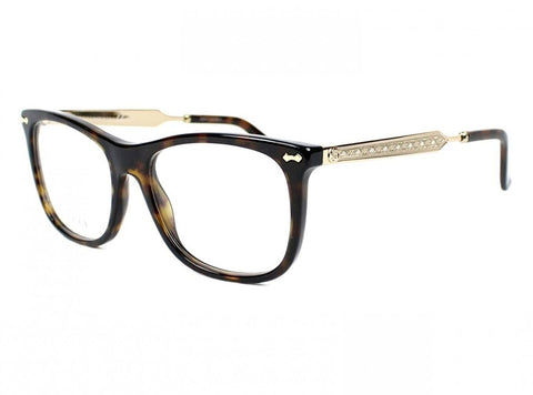 Optical frame Gucci Acetate Shiny Black - Silver (GG 3852 CSA) - Usa-optical.com