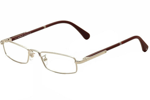 MontBlanc Men's MB0448 Rectangular Metal Frames GRAY 54 - Usa-optical.com