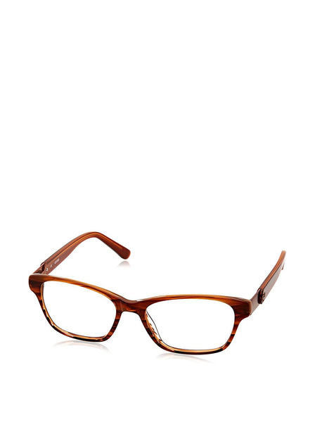 Guess - GU2356, Geometric, acetate, women, STRIPED BROWN(D96 N), 52/16/0 - Usa-optical.com